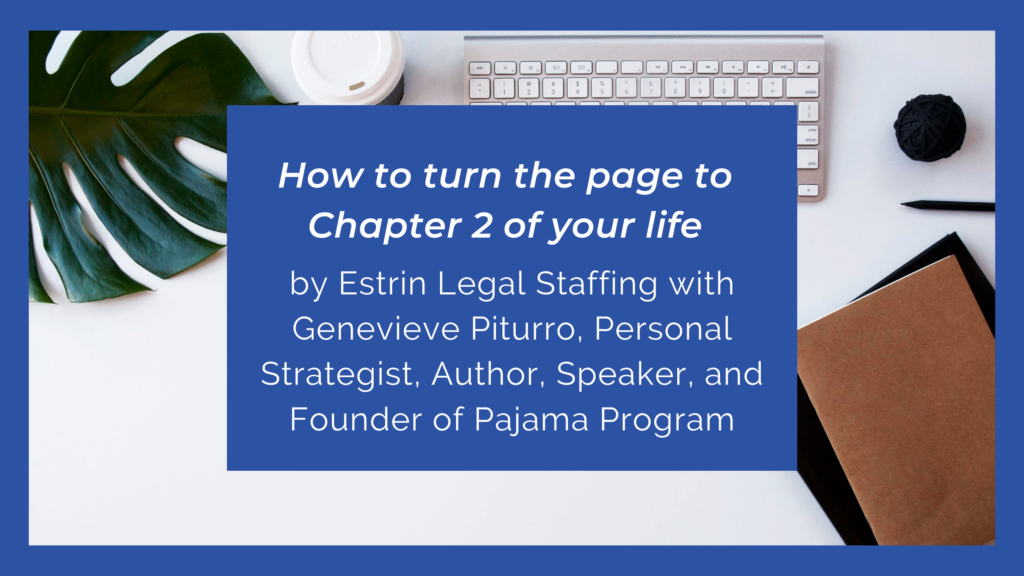 How To Turn The Page To Chapter 2 Of Your Life